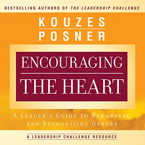 Encouraging the Heart audiobook cover art