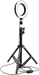 LED Ring Light Studio Light Camera Photo Phone Video Light Lamp With Tripods Beauty Room Selfie Ring Fill Light