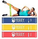 FEGSY Exercise Bands with Light, Medium, and Heavy Level for Women and Men