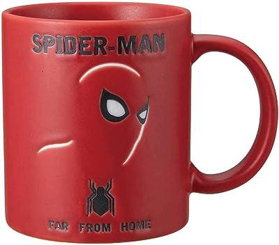 マーベル 「スパイダーマン」 マグ カップ レッド SAN3206-2
