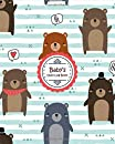Baby daily Log Book : cute Stripes Tracker for Newborns, Breastfeeding Journal, Sleeping and Baby Health Notebook, baby logbook for twins, mom. baby feeding logbook, 24 hour Baby's Daily Log Book, baby record books from birth journal first years