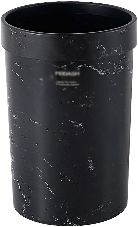 mejor calidad mejor precio Recipiente de basura rojoondo Hogar Bao Cocina Sala de de de estar Dormitorio Sin tapa Papelera - 7 L  tienda de ventas outlet