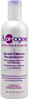 ApHogee Intensive Two Minute Keratin Reconstructor (2 Pack of 16 OZ.)