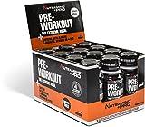 Nutramino +PRO Pre-Workout Shot, Orange, Pack of 12, 60 ml/0.720 Kg