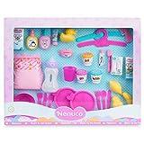 Nenuco-Mega Pack de Accesorios, Todos los Accesorios para cuidar a un muñeco bebé, Regalo Ideal para niñas y niños a Partir de 3 años(Famosa 700016294)