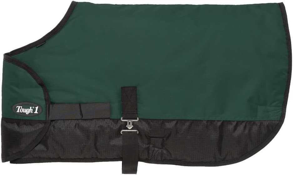Tough 1 600D Waterproof Poly Adjustable Foal Blanket Hunter Green