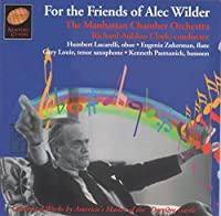 For the Friends of Alec Wilder: Orchestral Works