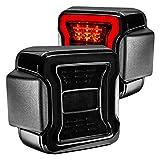 Oracle Lighting 5852-504 - Black/Smoke Fiber Optic LED Tail Lights