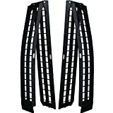 Titan 8' Pair of Truck Loading Ramps for Motorcycles and Recreational...