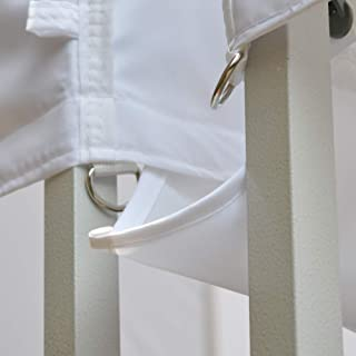 Eurmax 10 Ft Rain Gutter 10x10 Instant Canopy Pop Up Tent (White)