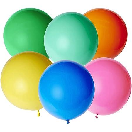 Gwhole Ballon G/éant 86 cm Ballons Gonflable Anniversaire D/écoration Multicolore Chiffre 0