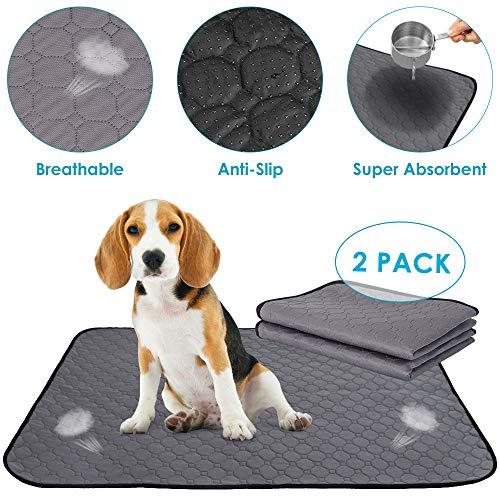 Syfinee Dog Urine Mat Strong Water Absorption Non-Slip Diaper Mat Washable Training Pad