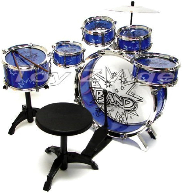 11pc Kids Boy Girl Drum Set Musical Instrument Toy Playset by EToysworld