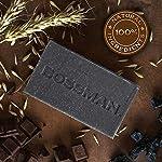 Bossman Men's Bar Soap 4 in 1 Beard Wash, Shampoo, Body Wash and Conditioner, 4 oz 5
