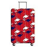 Cubierta de Equipaje en Flamingo Form,Duradero Protector Lavable...