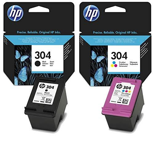 Bipack Cartucce HP ORIGINALI 304 1x NERO N9K06AE + 1x COLORE N9K05AE