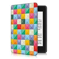AKNICI AMAZON 2018 Kindle Paperwhite第十世代カバー ケース 2018キンドルペーパーホワイト専用ケース 2018 Kindle Paperwhite Newモデル(第10世代)に適応 オードスリープ マグネット機能付き (キューブ)