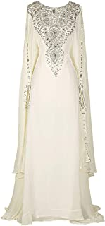 Best chiffon kaftan gown Reviews