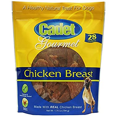 Cadet Chicken Breast Jerky Dog Treats, 28 oz