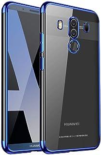 جراب Huawei Mate 10 Pro، جراب Ikwcase فائق النحافة مصنوع من مادة TPU بطبقة شفافة لهاتف Huawei Mate 10 Pro Blue