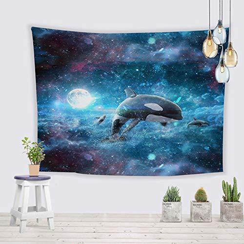 Decoratieve verven tapijt, moderne mode stilleven muurschildering woonkamer eetkamer gang slaapkamer tapijt decoratieve doek bed TV muur rechthoek,A,150 * 130cm