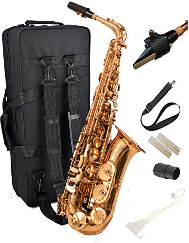 New! Herche Superior Alto Saxophone M2 UPGRADED!   Professional Instruments for All...