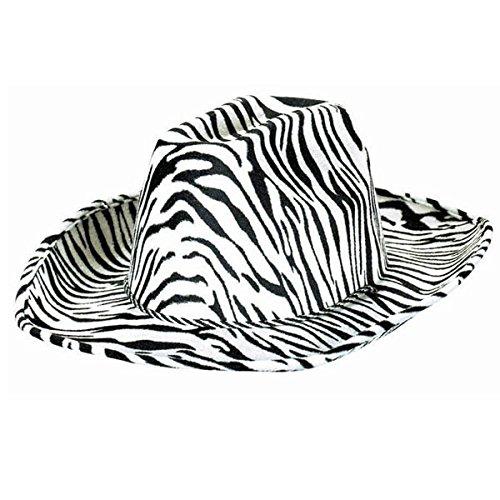 "Animal Print Cowboy Party Hat, 5"" x 13"""