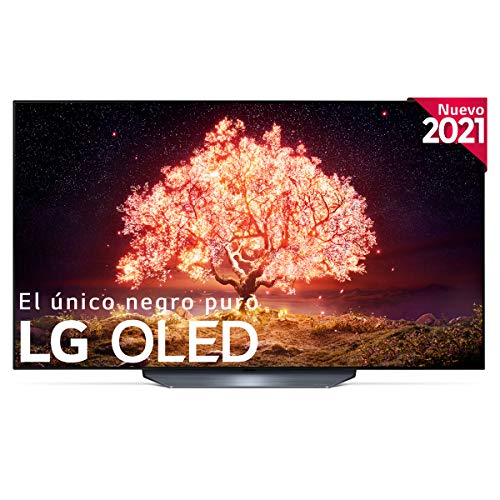 LG OLED OLED55B1-ALEXA 2021-Smart TV 4K UHD 139 cm (55') con Inteligencia Artificial, Procesador Inteligente α7 Gen4, Deep Learning, 100% HDR, Dolby ATMOS, HDMI 2.1, USB 2.0, Bluetooth 5.0, WiFi