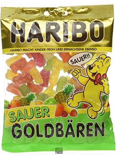 HARIBO Goldbären Sauer -Beutel, 15er Pack (15 x 200 g)