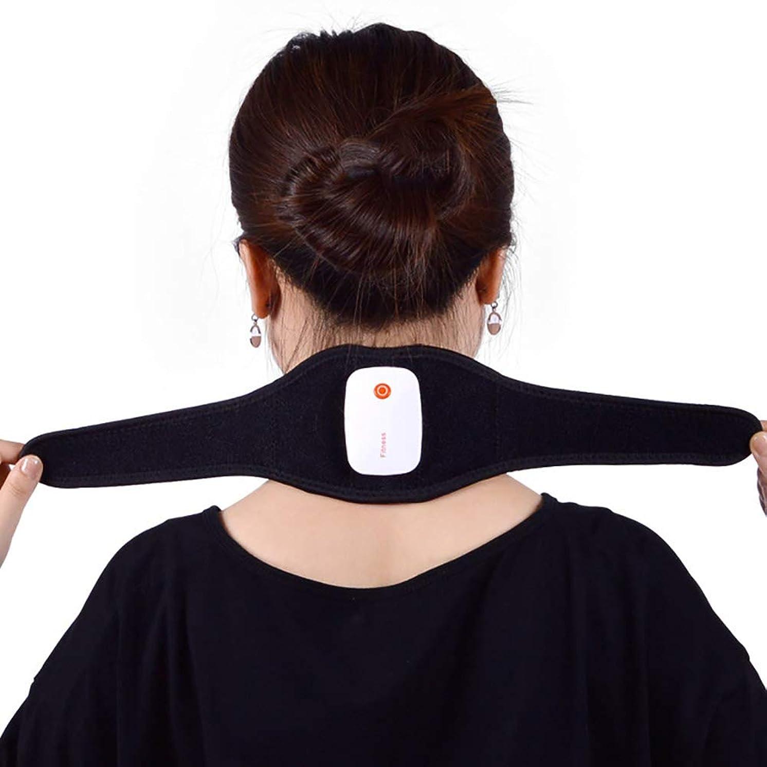 法的パークアルプスUSB頚部首の肩のマッサージャー、APPのスマートな頚部マッサージャーの多機能の脈拍の首の理学療法のマッサージャー電気暖房+自己発熱の遠赤外線のサーモセラピーの技術