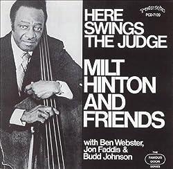 Lindsay, andrea Here Swings The Judge Mainstream Jazz