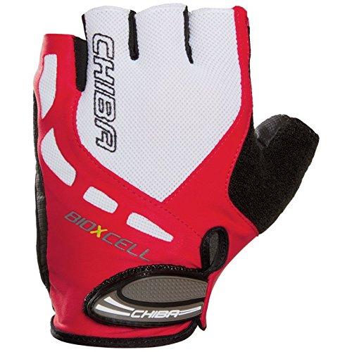 Chiba Herren Bioxcell Polyamide Handschuhe, rot, XS