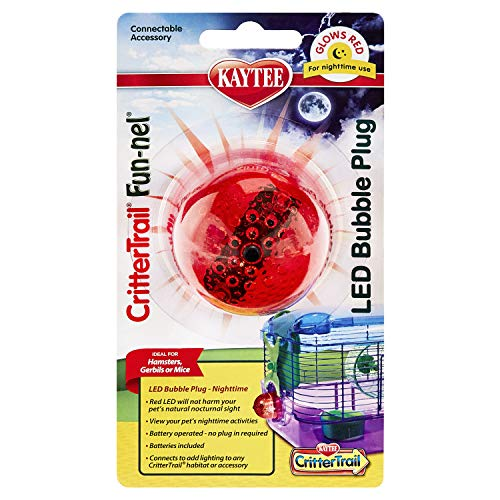Kaytee Critter Trail LED Add-On Night Light, Red