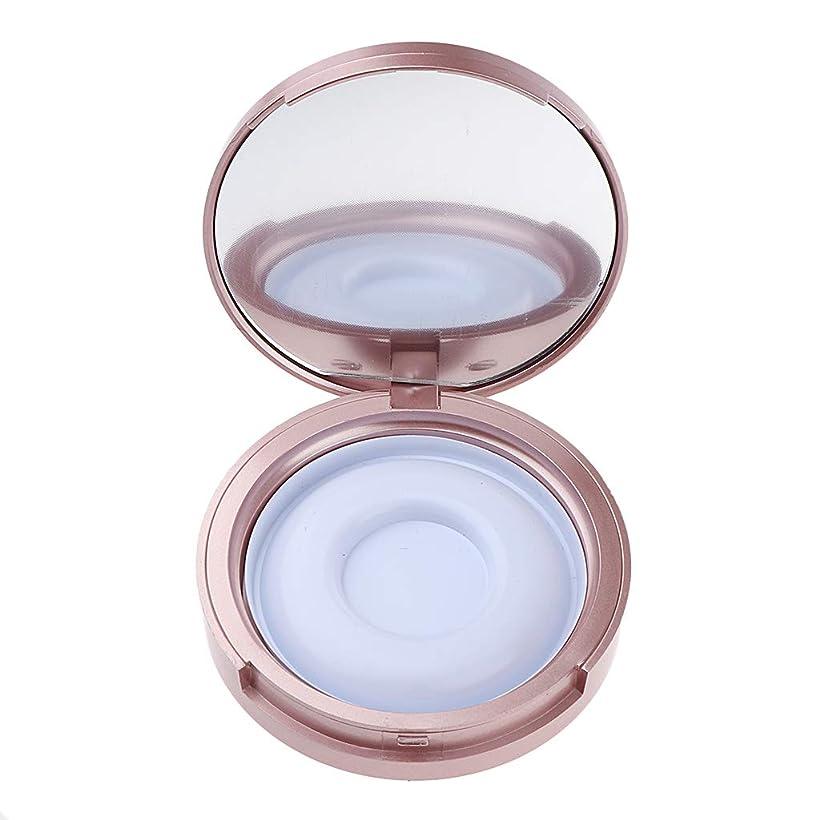 T TOOYFUL 全2色 まつげ収納ケース 付けまつげ 化粧ミラー 便利 メイクアップボックス トラベルケース - ローズゴールド