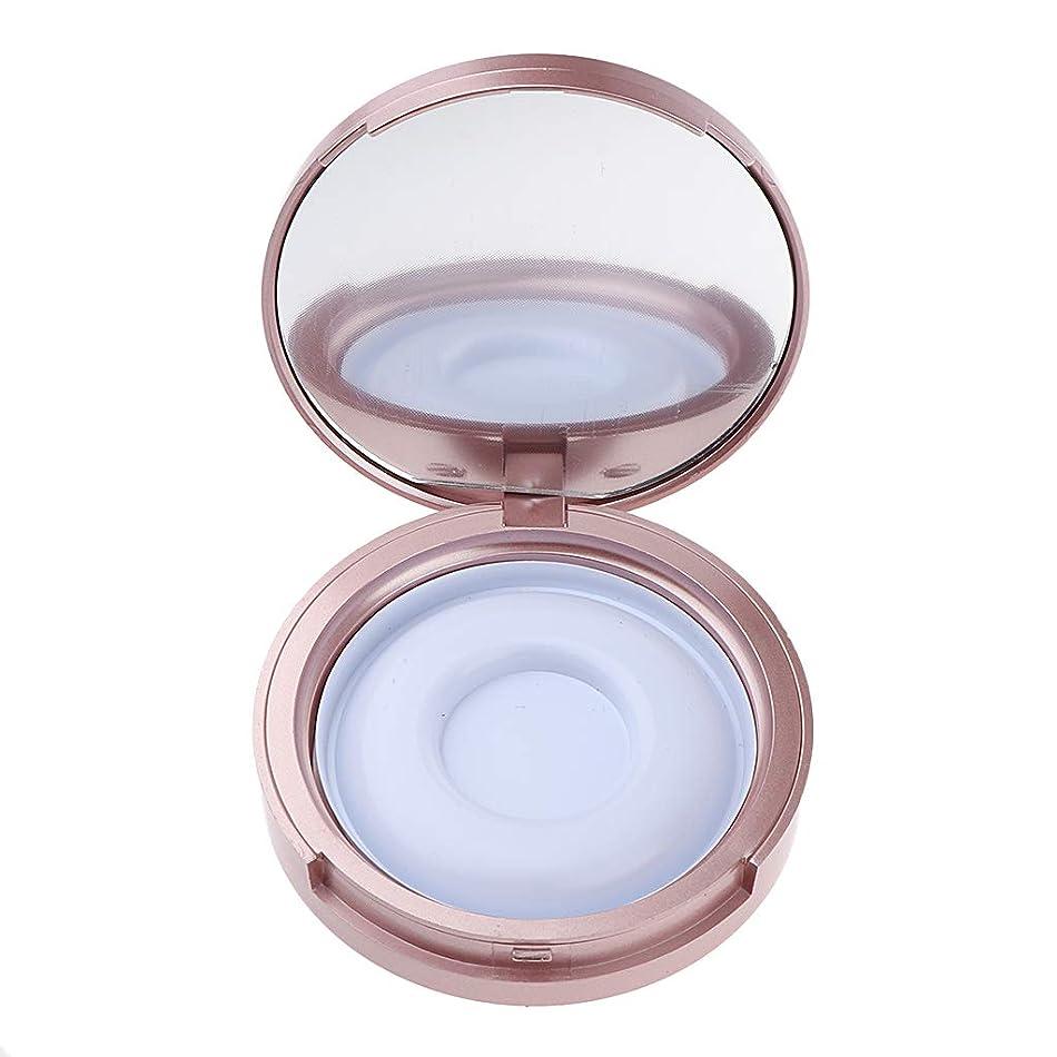 お誕生日所得応じるT TOOYFUL 全2色 まつげ収納ケース 付けまつげ 化粧ミラー 便利 メイクアップボックス トラベルケース - ローズゴールド