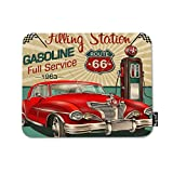 Best Dad Mouse Pads - Mugod Classic Red Car Mouse Pad 1960s Filling Review