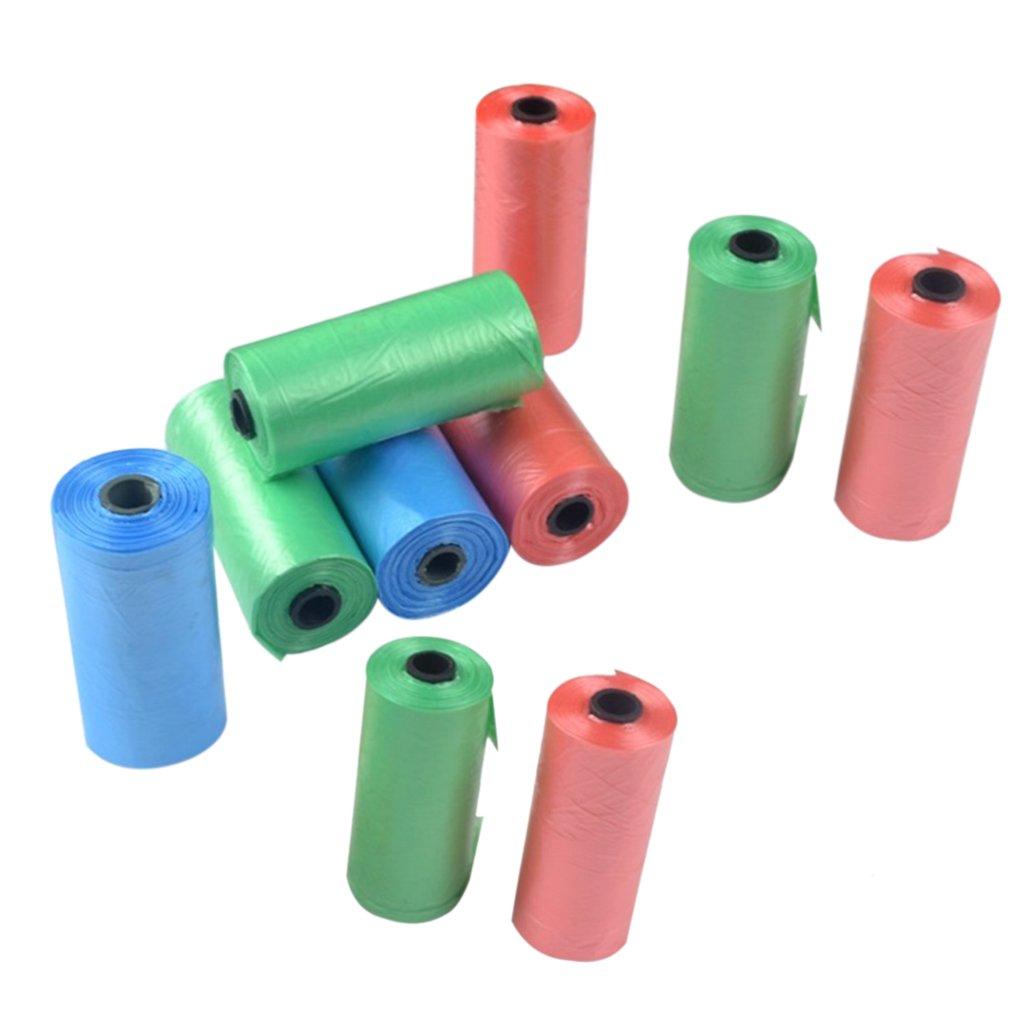 Gazechimp 10pcs Bolsa de Basura de Plástico Biodegradable Bolsa de ...