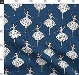 Ballett, Ballerina, Königin, Tanzen, Tutu Stoffe -