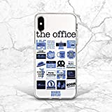 Blue TV Show Quotes Pattern Back Cover Case For Phone 5 5s SE iPhone 6 6s 7 8 Plus X Xs Max XR 11 12 Pro 2020