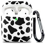 Rubber Airpod Case Soft Silicone Flexible Skin Cow...