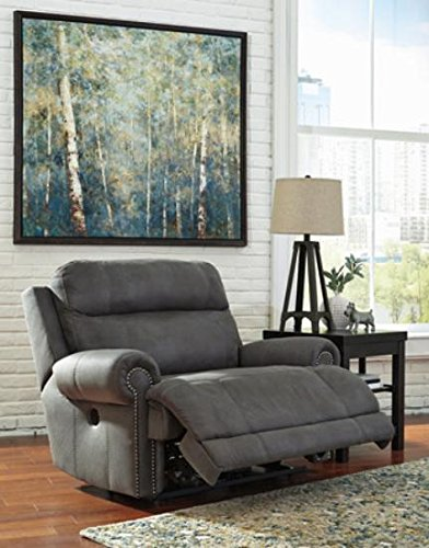 Ashley Furniture Design Oversized Recliner (Gray)