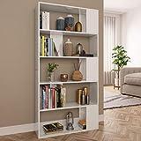 UnfadeMemory Estantería Librería Versátil con 5 Compartimentos...