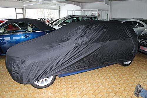 AMS Vollgarage Anti-Frost mit Spiegeltaschen für Seat Ibiza Kombi, wetterfeste Autoabdeckung für optimalen Frostschutz, Winterabdeckung mit Perfekter Passform, wasserfest & super leicht