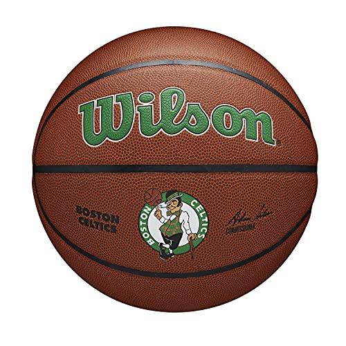 Wilson NBA Team Alliance Basketball - Size 7 - 29.5', Boston Celtics