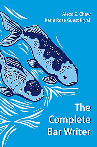 The Complete Bar Writer (English Edition)