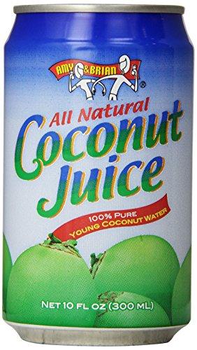 Amy & Brian Coconut Water Original, 240 Fl Oz (Pack of 24)