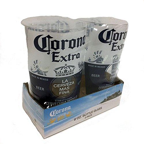 Corona Extra Replik Flaschenbecher, transparent