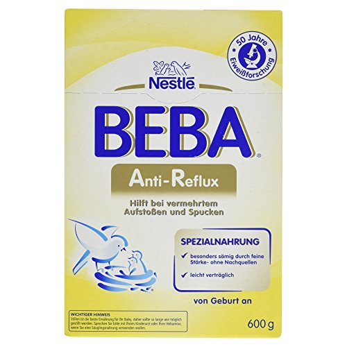 Nestlé Beba Anti-Reflux Anfangsmilch, von Geburt an, 1er Pack (1 x 600 g)