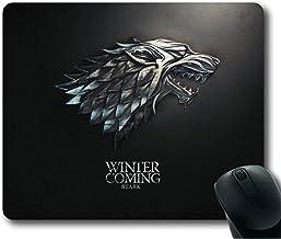 Gjid Juego de Tronos Se Acerca el Invierno Stark Alfombrilla de ratón/Alfombrilla de ratón Rectángulo por Ieasycenter