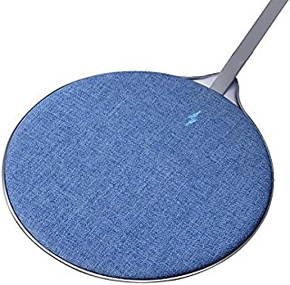 Wireless Charger, Axceed 10W Fast Charger Ultra Thin Qi-Certified Wireless Charging Pad Compatible with iPhone X / 8/8+ Samsung Galaxy Note 8 / Note 5 / S9 / S8 / S8+ / S7 Edge / S6 Edge+ and More